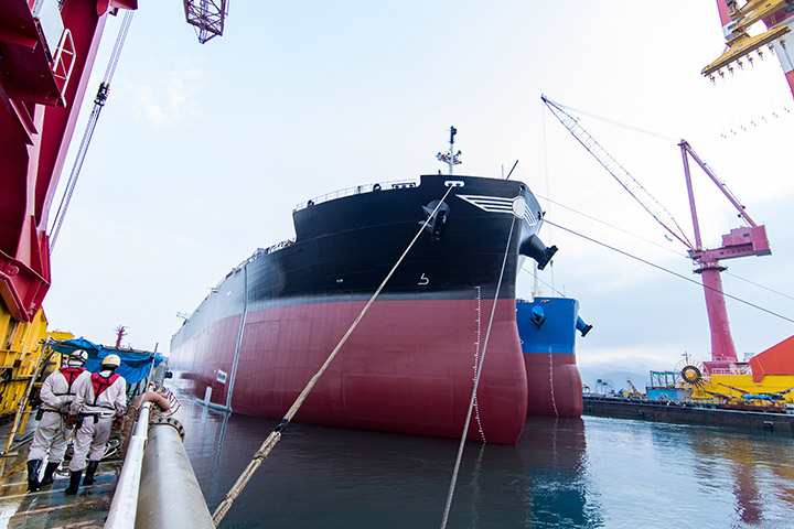The best productivity in the world through specialization in bulk carriers